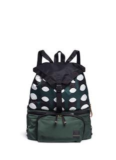 Marnix PORTER geometric print waist backpack
