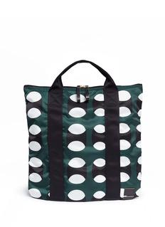 Marnix PORTER geometric print tote bag