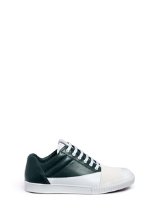 MarniStrap vamp leather sneakers