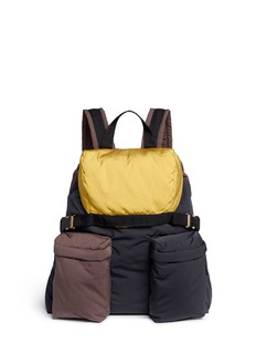 Marni Colourblock padded backpack