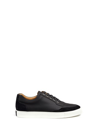 Main View - Click To Enlarge - Harrys Of London - 'Mr Jones 2' suede trim tech leather sneakers