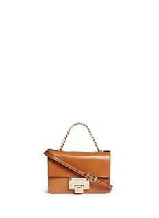 JIMMY CHOO'Rebel' mini leather shoulder bag