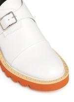 'Odette' stud platform monk strap shoes