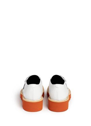 Back View - Click To Enlarge - Stella McCartney - 'Odette' stud platform monk strap shoes