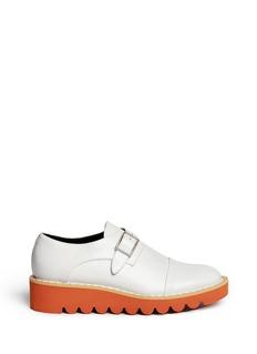 Stella McCartney'Odette' stud platform monk strap shoes