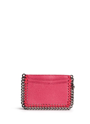Stella McCartney - 'Falabella' chain border card holder