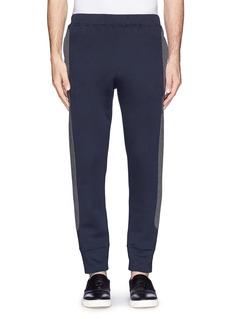 MARNIContrast side pantalone jersey pants