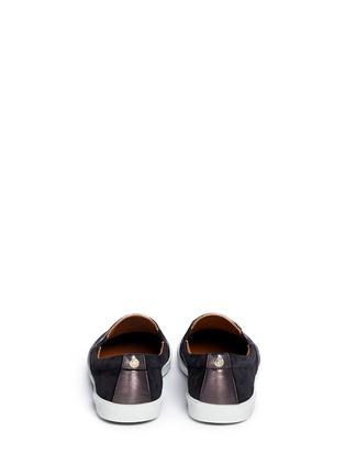 Back View - Click To Enlarge - Jimmy Choo - 'Demi' degradé glitter skater slip-ons