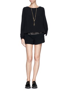 SEE BY CHLOÉ Shoulder flap layer top