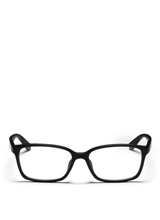 RAY-BAN Frosted plastic optical glasses