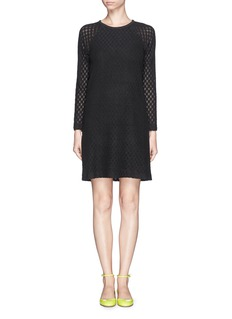SEE BY CHLOÉBrushed lace dress