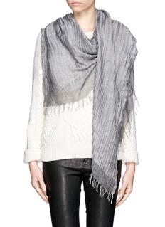FALIERO SARTI'Deborah' frayed scarf