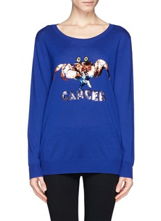 MARKUS LUPFER 'Cancer' sequin sweater