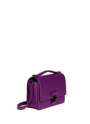 Front View - Click To Enlarge - 3.1 Phillip Lim - 'Pashli' mini leather messenger bag