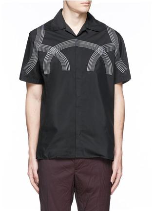 首图 - 点击放大 - LANVIN - 车缝线缀饰纯棉衬衫