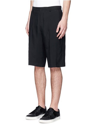 Lanvin - Technical wool cargo shorts