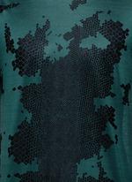 Snake print cotton T-shirt