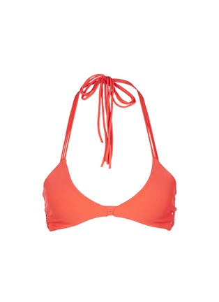 Main View - Click To Enlarge - Mikoh - 'Namotu' strappy halter bikini top