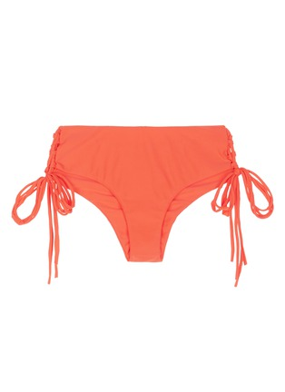 Main View - Click To Enlarge - Mikoh - 'Vanuatu' lace-up side boy short bikini bottoms