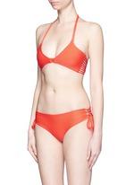 'Vanuatu' lace-up side boy short bikini bottoms