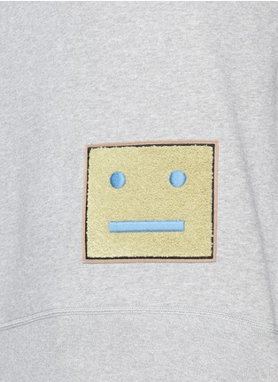 Detail View - Click To Enlarge - Acne Studios - 'College L Face' cotton French terry sweatshirt