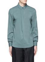 'Stune' pleat front tech fabric shirt
