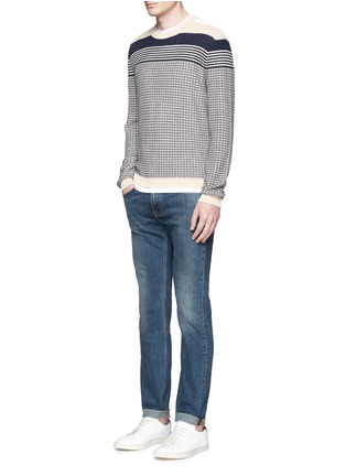 Figure View - Click To Enlarge - Acne Studios - 'Ace' stretch vintage skinny jeans