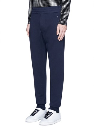 Front View - Click To Enlarge - Acne Studios - Rib cuff sweatpants