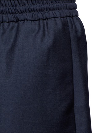 Detail View - Click To Enlarge - Acne Studios - 'Ryder' wool-Mohair hopsack Bermuda shorts
