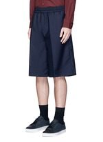 'Ryder' wool-Mohair hopsack Bermuda shorts