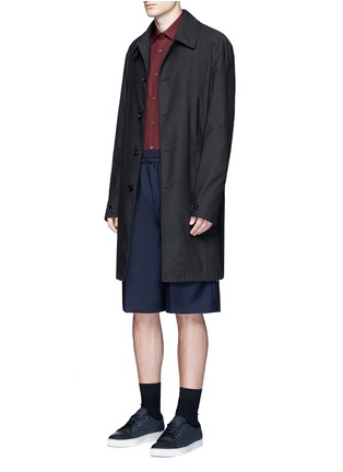 Figure View - Click To Enlarge - Acne Studios - 'Ryder' wool-Mohair hopsack Bermuda shorts