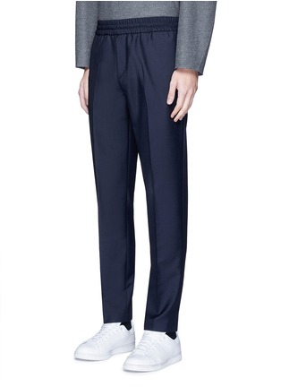 Front View - Click To Enlarge - Acne Studios - 'Ryder' wool-Mohair hopsack pants