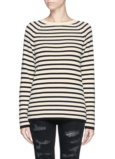 EQUIPMENT 'Lucien' rib knit stripe sweater