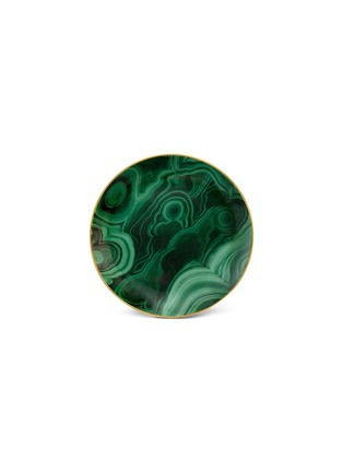 Main View - Click To Enlarge - L'Objet - Malachite canape plate set