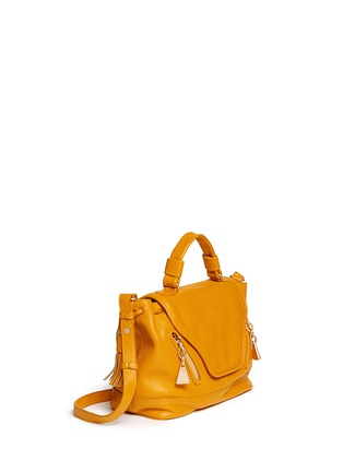 Front View - Click To Enlarge - See by Chloé - Leather cross body satchel