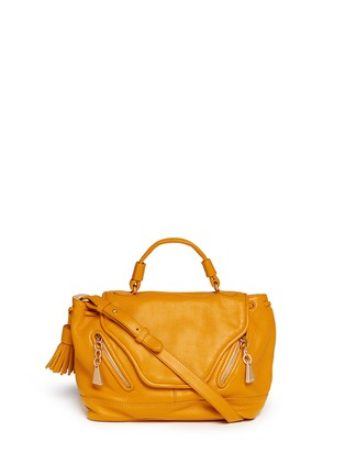 Main View - Click To Enlarge - See by Chloé - Leather cross body satchel