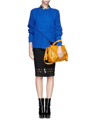 Figure View - Click To Enlarge - See by Chloé - Leather cross body satchel