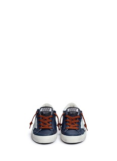 Golden Goose 'Superstar' leather kids sneakers
