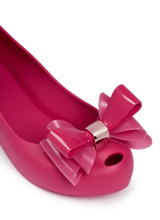 Detail View - Click To Enlarge - Melissa - 'Ultragirl Sweet II' bow kids flats