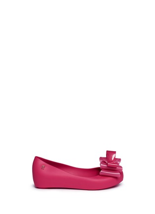 Main View - Click To Enlarge - Melissa - 'Ultragirl Sweet II' bow kids flats