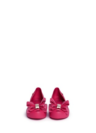Figure View - Click To Enlarge - Melissa - 'Ultragirl Sweet II' bow kids flats