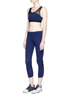Athletic Propulsion Labs 'The Perfect Capri' mesh panel performance leggings