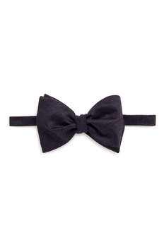 The Bow Tie 'FLR1' virgin wool bow tie