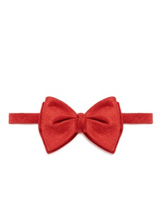 The Bow Tie 'LAX1' silk blend diamond point bow tie