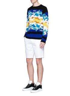 Wan HungBeach jacquard cotton sweater