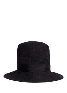 ATTACHMENTGrosgrain ribbon bow hat