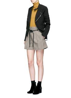 3.1 Phillip LimWool blend rib knit turtleneck sweater