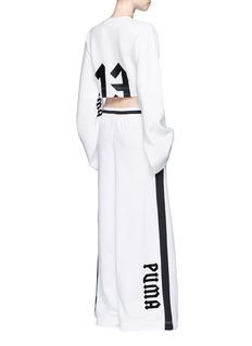FENTY PUMA by RihannaKimono long sleeve cropped fleece T-shirt