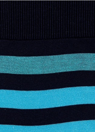 Detail View - Click To Enlarge - FALKE - Maritime stripe crew socks
