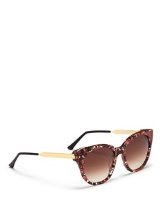 THIERRY LASRY'Softly' pearlescent shell effect acetate sunglasses